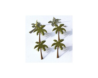 Palm Trees and Seashore Brads - Two Different Packages