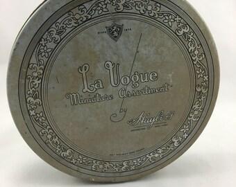 Vintage La Vogue Candy Tin