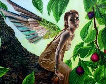 Tree Fairy - Fine Art Print - 19x12