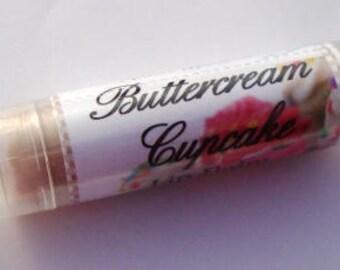Buttercream Cupcake Lip Balm