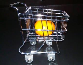 Free Shipping Doll Size Metal Shopping Cart Kitshy Kitchen Decor Doll Shopping Cart Goofy Decor Wacky Gift