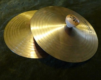 Child's First Act Brass Hand Crash Cymbals Musical Instrument