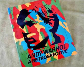 Andy Warhol - A Retrospective MOMA Book - Vintage