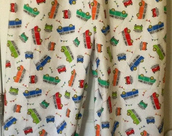 CAMPERS Flannel Pajama/Lounge Pants  Available in children's sizes 0-3 months to 16.  Contact me for adult sizes to 3X