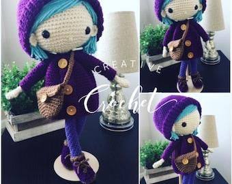 Handmade Crochet Emilia Doll