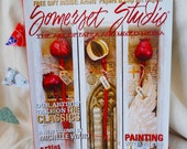 Somerset Studio, July August 2011, used magazine, art magazine, art book, how to book, craft book,