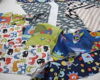 The Boys Destash Fabric Bag