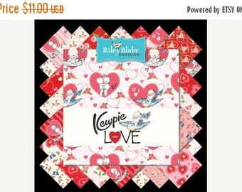 "ON SALE  Riley Blake ""Kewpie Love""  Stackers 42 Piece"