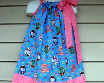 Sheriff Callie Pillowcase dress in sizes 6M to  8Y