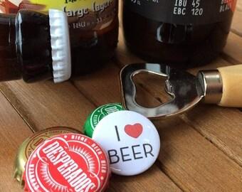 I Love Beer Pin Badge