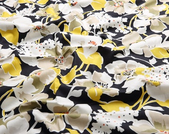 4302 - Chic Floral Cotton Fabric - 59 Inch (Width) x 1/2 Yard (Length)