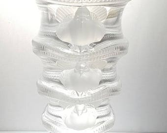 """Vintage Lalique """"Saint Marc"""" - Clear Crystal - Signed and Labeled"""