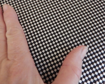 lycra spandex remnant, checkered flag, bikini fabric