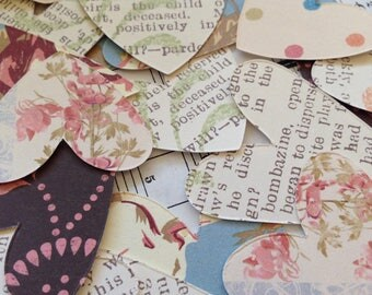 Thrift Store - Heart Stickers, Happy Mail, Snail Mail, Planners, Letters