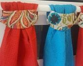 Cotton DISH TOWELS - Self-hanging