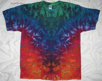 Reserved for Scott  ~   tie dye, 2XL ice dye, inkblot ice dye, ice dye by grateful dan dyes, psychedelic rorschach inkblot test