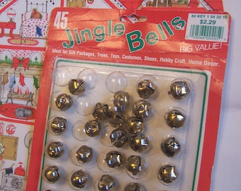 fun pack of vintage jingle bells