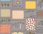 Fabric Sale! Treehouse - Clubhouse Rules Gray Print Fabric