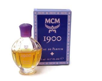 MCM 1900 EDP Eau de Parfum - Perfume .17 oz 5ml, Vintage 1990s