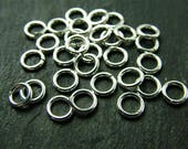 Sterling Silver Open Jump Ring 5mm ~ 20ga ~ Pack of 10 (CG2021)
