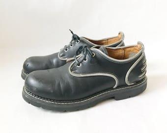 Vintage John FLUEVOG Chunky Lace Up Oxfords. Size 9 Women's