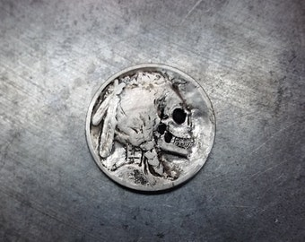 Hobo Nickel - Skull - Includes donation to the NARF