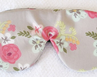 Sleep Mask GOTS Certified All Organic Cotton Mask for Sleep Eye Mask Eye Pillow