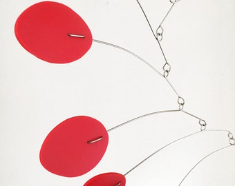 BEST SELLER! The MCM Mobile by Atomic Mobiles - 3 sizes - Mid Century Modern Inspired Kinetic Art
