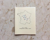 City of Maps:  Navigations in Paris, France