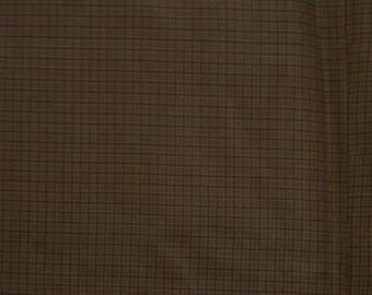 Vintage kimono S330, brown silk
