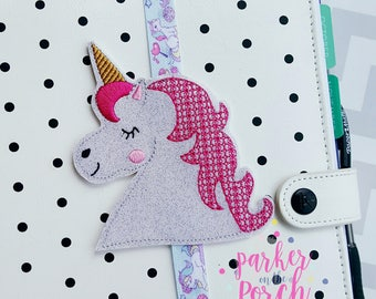 Digital Download- Unicorn Planner Band Embroidery Design