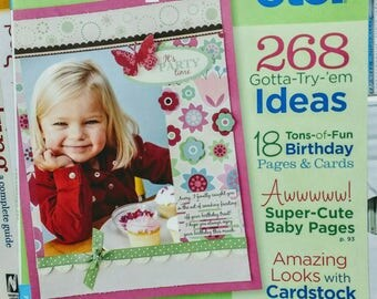 Sale: A Scrapbooks etc. Paper Crafting Ideas Magazine