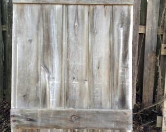 Antique Primitive Barn Hay Door Weathered Worn