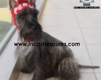 100% Alpaca Hat for dogs Peru Dog Personalize your hat FREE SHIPPING