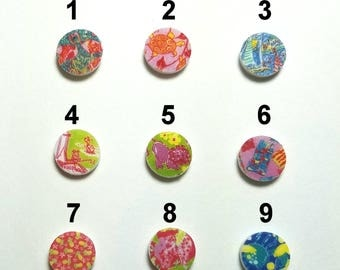 Lilly Pulitzer inspired tiny dot earrings - 9 Patterns to choose from -  stud earrings