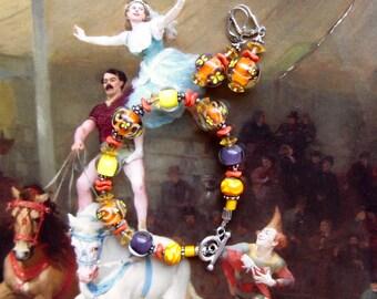 Glass Bead Bracelet Set, Lampwork Jewelry Set Beaded Bracelet, Earrings Set Jewelry Gift Bracelet Set, Earrings Dangle Drop Earrings Jewelry