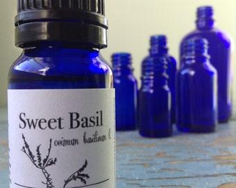 French Basil Essential Oil - Organic - Aromatherapy - Essential Oil - Essential Oils