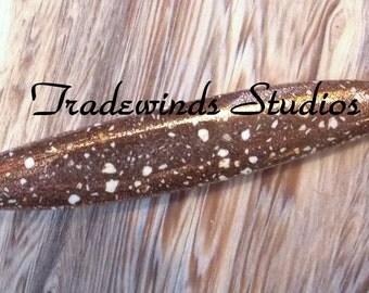 Freeform Copper Firebrick Cabochon