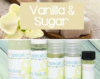 Vanilla Sugar Perfume, Perfume Spray, Vanilla Body Spray, Vanilla Perfume Roll On, Perfume Sample Oil, Dry Oil Spray, You Choose the Product