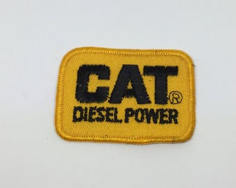 CAT Deisel Power Sew On or Iron On Patch
