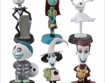 Nightmare Before Christmas Cake Toppers Etsy Uk