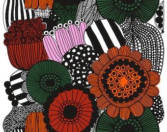 Marimekko Siirtolapuutarha piece of fabric