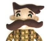 Gustavo the Mega Mustache Plush