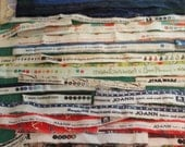 SELVAGE Bundle 33 - Fabric selvage selvedge supplies Quiltsy Destash