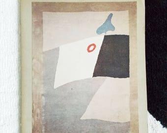1960s exhibition catalogue modernist rugs / 60s catalog soft cover tapestry art book/ original Mid Century design book