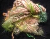 "Tail spin handspun Art yarn"" Exotic"""