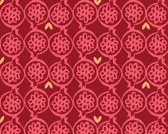 Pomegranate Art Etsy - retro home decor fabric by the yard