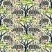 Rhinoceros Fabric - Dark Rhinoceros By Mag-O - Wild Zoo Animal Kids Rino  Fabric By The Yard With Spoonflower