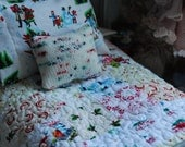 Old Fashioned Christmas Quilt and Pillow Set for Blythe