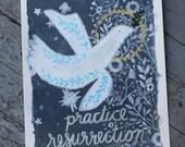 Practice Resurrection Print | 8 x 10 | 5 x 7 | Wendell Berry